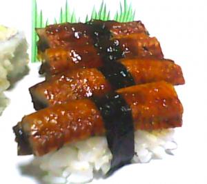 Il sushi d\u0027anguilla (detto, in lingua giapponese, unagi sushi) è una  prelibata tipologia di sushi preparata utilizzando \u2013 come il nome stesso  suggerisce