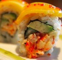 sushi mango aragosta