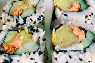 sushi tonno ananas
