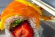 sushi salmone e fragola