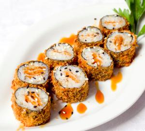 Dopo aver raggiunto una certa maestria nel preparare i sushi tradizionali,  possiamo passare alle versioni calde. Oggi ci occupiamo di una preparazione