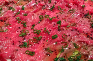 sashimi manzo
