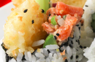 sushi tropicale ananas