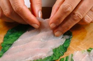 Sushi Spigola