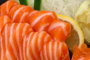 salmone sashimi