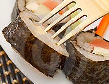 sushi forchetta