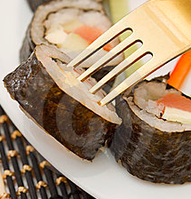 sushi forchetta