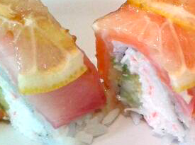 limone tonno sushi