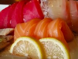 sushi tonno e arancia
