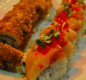 california sushi roll fried