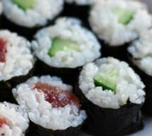 sushi tonno cetriolo