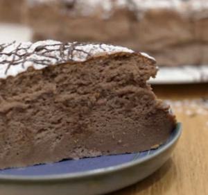 cheesecake giapponese cioccolato