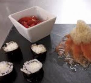 sushi burrata tonno