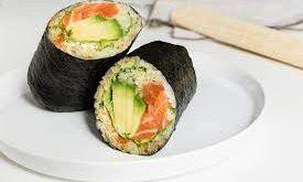 burrito sushi