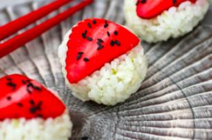 sushi fragola