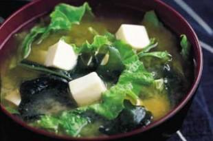 wakame zuppa