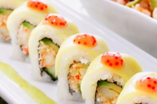 sushi aragosta avocado