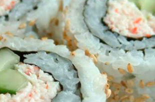 sushi cetriolo granchio
