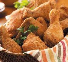 Pollo fritto al cocco