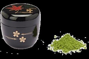 Il contenitore per il tè giapponese