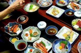 Pranzo giapponese per gli amici