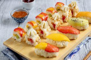 sushi e frutta